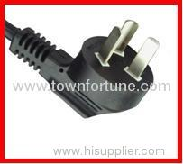 3pin power cords for China