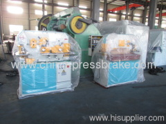 hydraulic iron worke machine