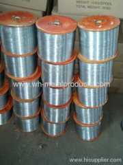 galvanized wire for making twist ties