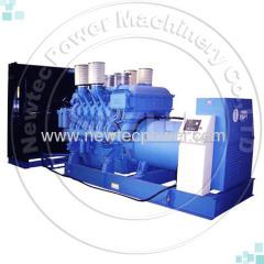 2000kw 2500kva MTU diesel generator