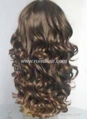 Brazilian hair lace front Curl wigs