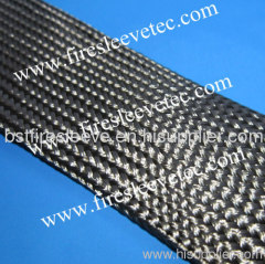 High temperature braided basalt fiber sleeve