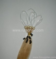 Micro loop hair extension (Silicon Micro ring loop extension