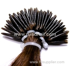I-tip human hair extension (Stick hair extension)