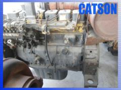 Komatsu PC220-6 6D102 engine assy