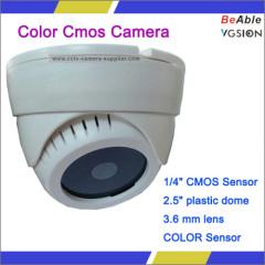 Color Cmos Sensor Dome Camera
