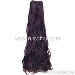 Italy Curl machine weft hair