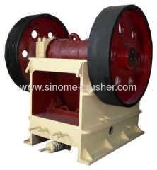 PE series stone jaw crusher PE500×750