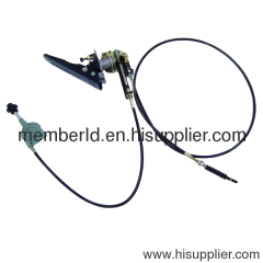 firetruck hand throttle assembly