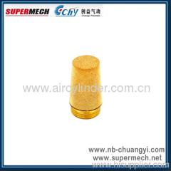 SC series Brass Air Silencer muffler