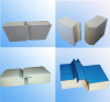 Polyurethane sandwich panel for cold room,pu roof panel and wall panel