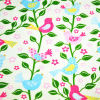 100% cotton birds printed corduroy fabric for corduroy jackets