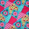 Flower Pattern Printed Corduroy 11 Wales Corduroy Fabric