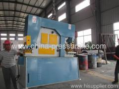 iron worker punching and cutting machine