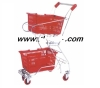shopping trolley smart cart/children metal shopping cart/ double basket shopping cart /metal trolley