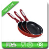 3PCS aluminum fry pan set
