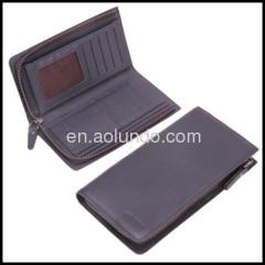 Guangzhou long style men wallet card holder wallets