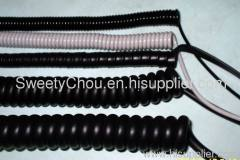 High Quality Coiled Spring Cable Low Voltage Spiral Cable
