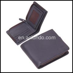 Genuine leather wholesale wallets fashion wallets man