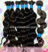 full cuticle Virgin Brazilian human hair bulk