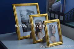 Gold or Silver color 13x18cm 5R Bedroom Plastic Photo frame