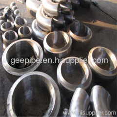 ISO standard A234-WP5 pipe cap