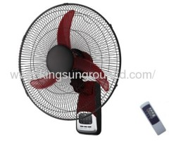 18' wall mounted fan with remote control