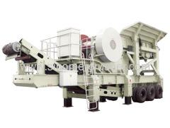 Good quality Mobile jaw crushing plant YF1349J811-N