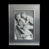 Aluminum picture frame with stand