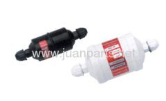 Liquid line filter driers for refrigerant