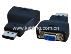 DisplayPort Adapter DP Male to VGA Female