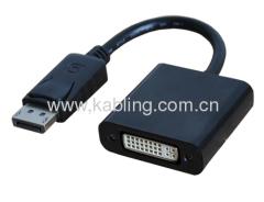 DisplayPort Adapter DP Male to DVI Female 20CM