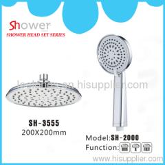 bathroom shower set overhead shower