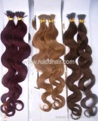 hot sale Body wave human hair extension