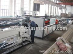 PE pipe plastic making machine