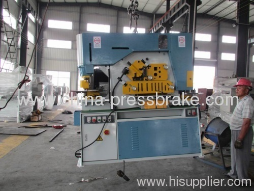 multi functional ironworkers Q35Y-25E IW-110T