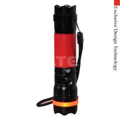 Aluminium 1W led flashlight 120db Personal Alarm