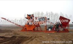 sand sieving washing machine