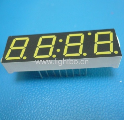 Ultra Bright White 4-digit 0.397 segment led display for STB