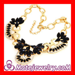 Flower Choker Collar Necklace Bijouterie