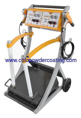 Box feed Intelligent manual powder coating mahine