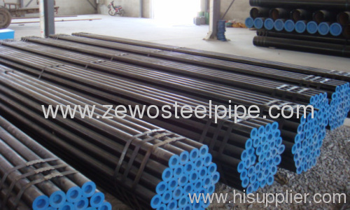 ASTM API 5L Seamless Carbon Steel Pipe with black paint