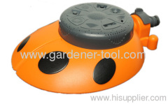 Plastic 8-Way Garden Water Sprinkler