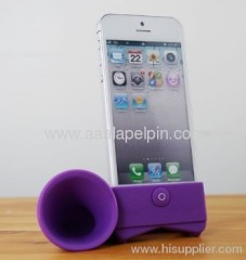 For iphone 5 5G horn stand speaker