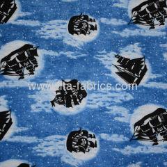 100% cotton printed interlock fabric/Knitting Fabrics