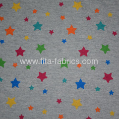 100% cotton printed jersey fabric and dyed Knitting fabric