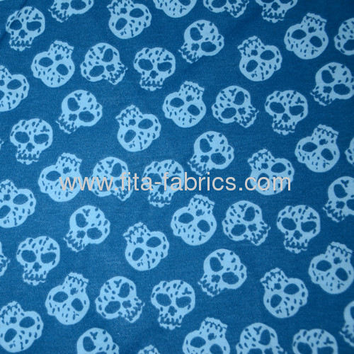 Skullcandy printed Weft or Filling Knitting or textile print