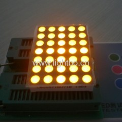 amber 5 x 7 dot matrix;amber led display 5*7; 5 x 7 amber dot matrix;