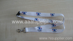 White lanyards in three colors