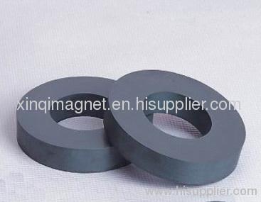 Ferrite ring shape magnet